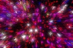Абстрактная предпосылка красных и розовых тонов Стоковое Изображение RF