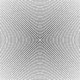 Абстрактная предпосылка круга полутонового изображения Полутоновое изображение выравнивает вектор Черные нашивки на белой предпос Стоковые Фото