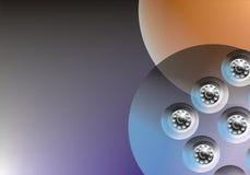 абстрактная предпосылка механически Стоковая Фотография RF