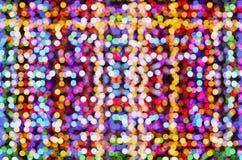 Абстрактная предпосылка, много ярких покрашенных светов стоковая фотография rf