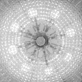 Абстрактная предпосылка небольших электрических лампочек стоковое фото
