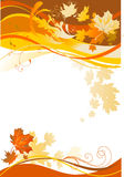абстрактная предпосылка осени Стоковые Изображения RF