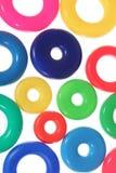 Абстрактная предпосылка от кругов или кец вертикальных Стоковая Фотография
