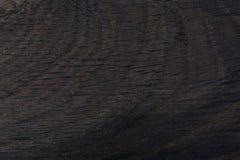 Абстрактная предпосылка от черного естественного деревянного дуба Стоковое Фото