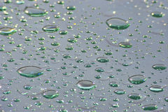 абстрактная предпосылка падает зеленый дождь стоковое фото rf