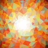 абстрактная предпосылка полигонально Стоковые Изображения