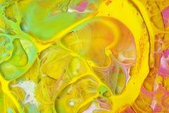 абстрактная предпосылка по мере того как предпосылка может мраморизовать используемую текстуру Акриловые цвета стоковое фото