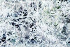 Абстрактная предпосылка разрушенного стекла Стоковое Изображение RF