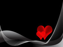 абстрактная предпосылка романтичная Стоковая Фотография RF