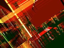 абстрактная предпосылка светящая Стоковые Изображения