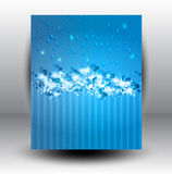 Абстрактная предпосылка снежка звезд Стоковые Фотографии RF