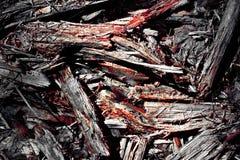Абстрактная предпосылка старого мертвого дерева кроша к частям олово Стоковое Изображение