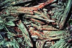Абстрактная предпосылка старого мертвого дерева кроша к частям олово Стоковое фото RF