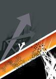 абстрактная предпосылка стрелки Стоковое Изображение RF