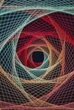 Абстрактная предпосылка строки принятых потоков Стоковое Фото