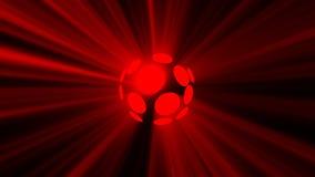 Абстрактная предпосылка с волшебной сферой диско Стоковое фото RF