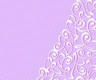 Абстрактная предпосылка с декоративными линиями виньеток также вектор иллюстрации притяжки corel Текст космоса Стоковое Изображение