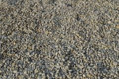 Абстрактная предпосылка с камешк-серыми круглыми камнями моря Стоковое Изображение RF