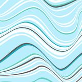 Абстрактная предпосылка с нечестный линиями Погнутость космоса иллюстрация штока