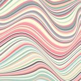 Абстрактная предпосылка с нечестный линиями Погнутость космоса бесплатная иллюстрация