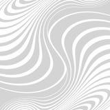 Абстрактная предпосылка с передернутыми линиями Погнутость космоса Жидкое движение иллюстрация вектора