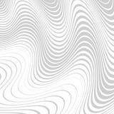 Абстрактная предпосылка с передернутыми линиями Погнутость космоса Жидкое движение иллюстрация штока