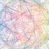 Абстрактная предпосылка с пересекать красочные линии Голубой, gree иллюстрация штока