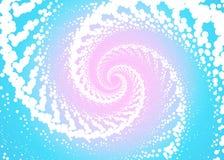 Абстрактная предпосылка с свирлью иллюстрация вектора