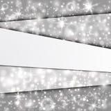 Абстрактная предпосылка с серебряными слоями бесплатная иллюстрация