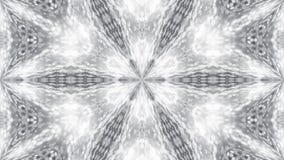 Абстрактная предпосылка с серебряным калейдоскопом Стоковые Фотографии RF