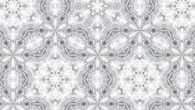 Абстрактная предпосылка с серебряным калейдоскопом Стоковое фото RF