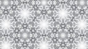 Абстрактная предпосылка с серебряным калейдоскопом Стоковая Фотография RF