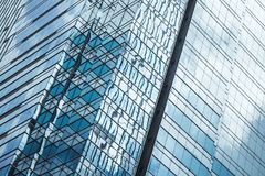 Абстрактная предпосылка с современной архитектурой Стоковая Фотография RF