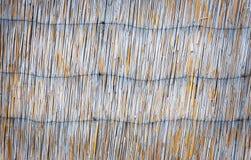 Абстрактная предпосылка с соломой Стоковая Фотография RF