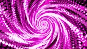 Абстрактная предпосылка с фиолетовыми частицами Стоковая Фотография