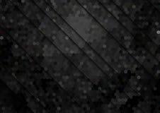 Абстрактная предпосылка с шестиугольной картиной иллюстрация штока