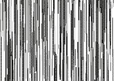 Абстрактная предпосылка с glitched вертикальными нашивками, линия потока предпосылка бинарного кода с 2 разрядами двоичного числа Стоковая Фотография