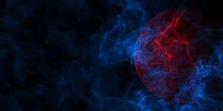 Абстрактная предпосылка тайны иллюстрация вектора