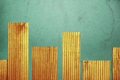 Абстрактная предпосылка текстурированных деревянных доск и зелен-голубых bas стоковые изображения rf