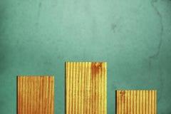 Абстрактная предпосылка текстурированных деревянных доск и зелен-голубого ste стоковое фото rf