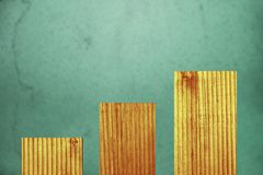 Абстрактная предпосылка текстурированных деревянных доск и зелен-голубых bas стоковое изображение rf
