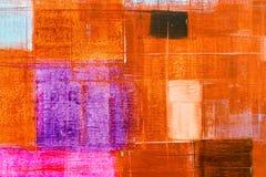 Абстрактная предпосылка текстуры картины маслом стоковые фото
