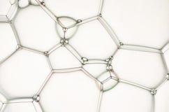 Абстрактная предпосылка текстуры пузырей мыла Стоковые Изображения RF
