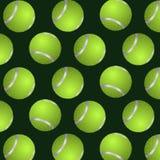 Абстрактная предпосылка теннисных мячей Стоковое Фото
