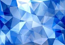 Абстрактная предпосылка треугольника Стоковое Фото