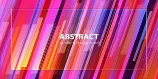 абстрактная предпосылка Ультрамодная линия состав градиента вектор бесплатная иллюстрация