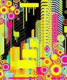 абстрактная предпосылка урбанская Стоковое Изображение