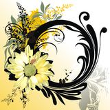 абстрактная предпосылка флористическая Стоковое фото RF