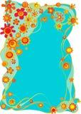 абстрактная предпосылка флористическая Стоковое Изображение RF
