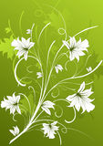 абстрактная предпосылка флористическая Стоковые Изображения RF